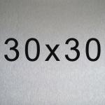 Aluminio 30x30 cm